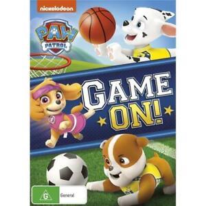 Paw Patrol - GAME ON -Rare DVD Aus Stock -Kids & Family New
