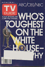 1983 TV GUIDE Who's Toughest on the White House and Why