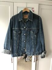 Levis Dark Denim Jacket Size XL