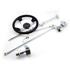 Go kart streeing wheel rod Strut Knuckle Spindle Assembly & 5 inch Flange ATV