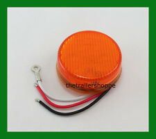 """Dual Function (High and Low) 2-1/2""""  Amber 9 LED Sealed Light"""