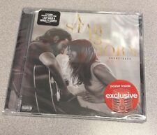LADY GAGA A Star Is Born USA CD TARGET EXCLUSIVE w/ POSTER SEALED