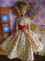 Mattel Vintage Repro Titan Hair Ponytail Barbie Doll w/Amazing Handmade Fashion!