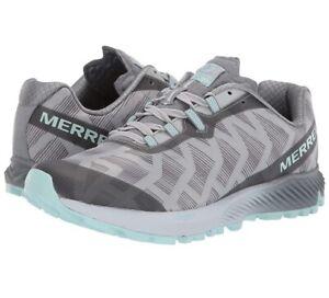 Merrell Womens Agility Synthesis Flex Capri/Blue Hiking Shoes Size 6.5 (1613281)