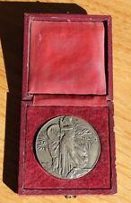 médaille en argent massif signé r. corbin ( caisse d epargne )