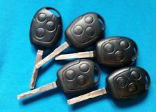 5 Ford Transit Max S-Max Mondeo Fusion Galaxy Clave Fob 3 botón remoto