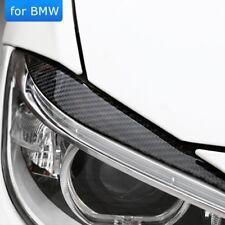 For BMW 3 Series F30 Car Headlights Eyebrows Cover Carbon Fibre Headlamp Sticker