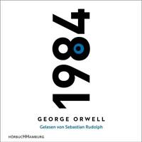 SEBASTIAN RUDOLPH - GEORGE ORWELL: 1984 (NEWAUSGABE) HÖRBUCH  2 MP3 CD NEW