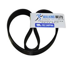 Part 118016 NordicTrack ProForm Weslo Treadmill Motor Drive Belt + Free 1oz Lube