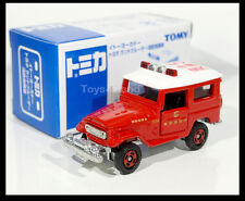TOMICA TOYOTA LAND CRUISER FIRE CHIEF CAR 1/60 TOMY DIECAST CAR NEW
