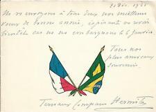 L'AMBASSADE DE FRANCE A RIO EN 1935