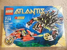 LEGO ATLANTIS 8079  SHADOW SNAPPER 245 PIECE *BRAND NEW SEALED* SEA MONSTER