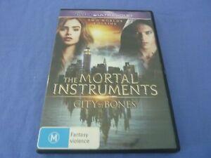 Mortal Instruments - City Of Bones DVD Lily Collins Lena Headey R4 Free Postage