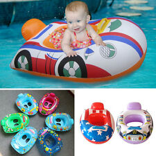 Inflatable Float Swimming Seat Ring Kids Baby Safety Floating Swim Pool Boat