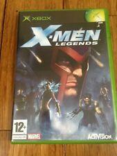 X-Men Legends-Microsoft Xbox original jeu 2004-PAL