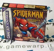 Spider-Man Mysterio's Menace Spiderman (GBA) ITA NUOVO