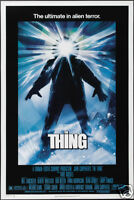 The thing John Carpenter's #12 cult horror movie poster print