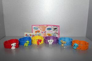 Série Complète Bracelets (TR071 À - TR071 F ) + 6 Bpz Kinder Italie 2012/2013