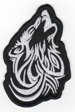Bikers MC  TRIBAL WOLF Embroidered Patch-086