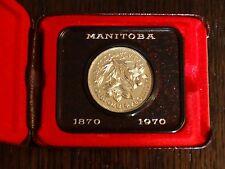 Canada 1970 1 Dollar, Manitoba Centennial - Presentation Case