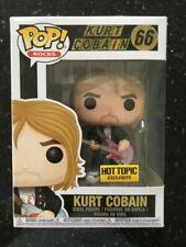 Funko Pop Rocks Kurt Cobain Nirvana Vinyl Figure Hot Topic 66