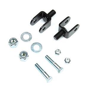 Teraflex 1203800 Front Upper Shock Stem Eliminator Kit for 97-06 Wrangler LJ/TJ