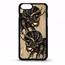 Triceratops dinosaur cool tattoo pattern history graphic art phone case cover