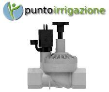 """Elettrovalvola ORBIT 3/4"""" femmina con controllo di flusso PVC 24V per centralina"""