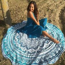 Round Rectangle Mandala Wall Hanging Home Decor Bedspread Tapestry Beach Towel