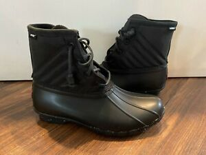 Sperry Top Sider New Saltwater Core Duck Boot Shoe Lady Size USA 7 MSRP $130