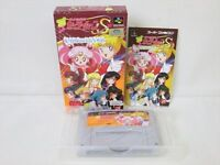 SAILOR MOON S Jogai Ranto Super Famicom Nintendo Japan Boxed Game sf