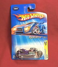 Hot Wheels 2005 1st. Editions Realistix Airy 8  BLACK WITH SILVER RIMS # 4 OF 20