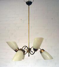50er Jahre Deckenlampe - Tulpenlampe - 6-flammig - Rockabilly