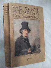 W GRANT STEVENSON.WEE JOHNNIE PATTERSON & HUMOROUS SKETCHES.H/B 1915,ILL,NISBET