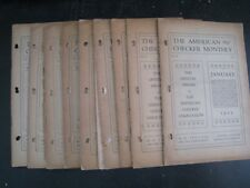 The American Checker Monthly : Vol.V Nos.1 Thru 12 [1925 Complete] Soft Cover