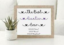 Personalised Mothers Day Gift Print, Mummy, Mum,  Nanna, Grandma Auntie Gift,