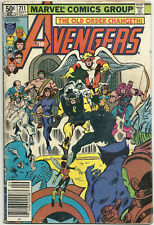 Avengers #211 GD/VG Sep 1981 Iron Man Thor Black Panther Captain America Angel