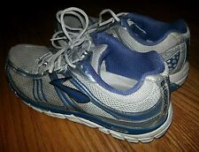 BROOKS ADDICTION 10 MENS RUNNING SHOES SIZE US 10 M EU 44 GRAY BLUE
