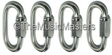 "4X Stainless Steel 5/16"" Chain Link Connector Boat Rope Dock Line Mooring Splice"