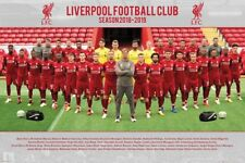 Liverpool FC Poster - TEAM 18/19 - New LIVERPOOL Football poster SP1534