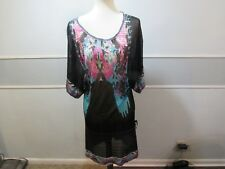 Custo Barcelona Knitwear sheer knitted dress size M