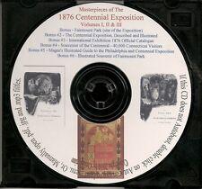 1876 Centennial International Exhibition - 5 Volumes