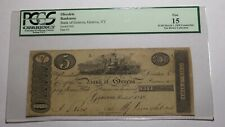 $5 1818 Geneva New York NY Obsolete Currency Bank Note Bill! 1818 Counterfeit!