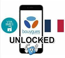 Liberar Unlock Bouygues Telecom Francia iPhone 3,4,5,6,7,8,X,XR,Xs,Xs Max plus