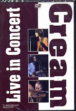 CREAM - LIVE IN CONCERT DVD (NEU & OVP)