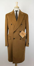 New ERMENEGILDO ZEGNA COUTURE Brown 100% Vicuna DB Coat Size 54/44 R $27995