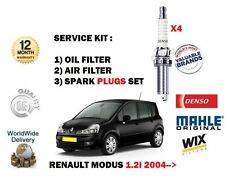 para RENAULT MODUS 1.2i 2004- > NUEVO Aire Aceite 2 Juego de filtros +