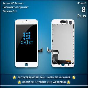 Display für iPhone 8 Plus LCD Retina Display Weiss Bildschirm Werkzeug