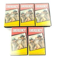 Emergency TV Show Collector's Edition VHS Lot of 5 Tapes / 10 Episodes