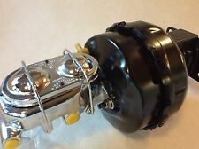 "Jeep CJ7 CJ5 9"" dual power Brake booster &1 1/8"" bore master cylinder w/brackets"